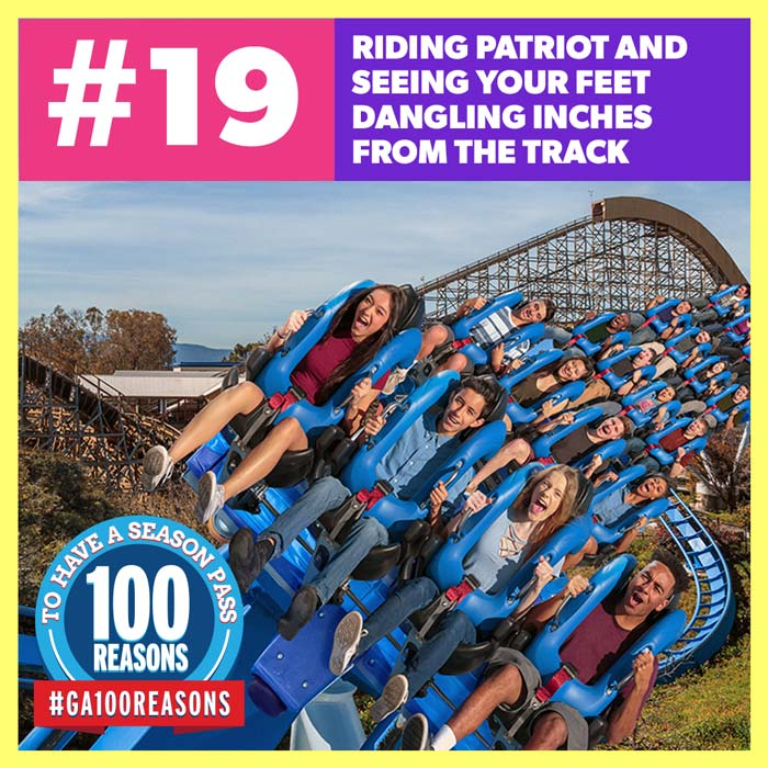 Riding Patriot and Seeing Your Feet Dangling Inches for the Track