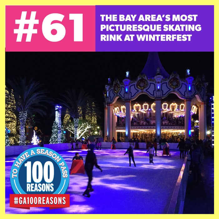 The Bay Area's Most Picturesque Skating Rink at WinterFest