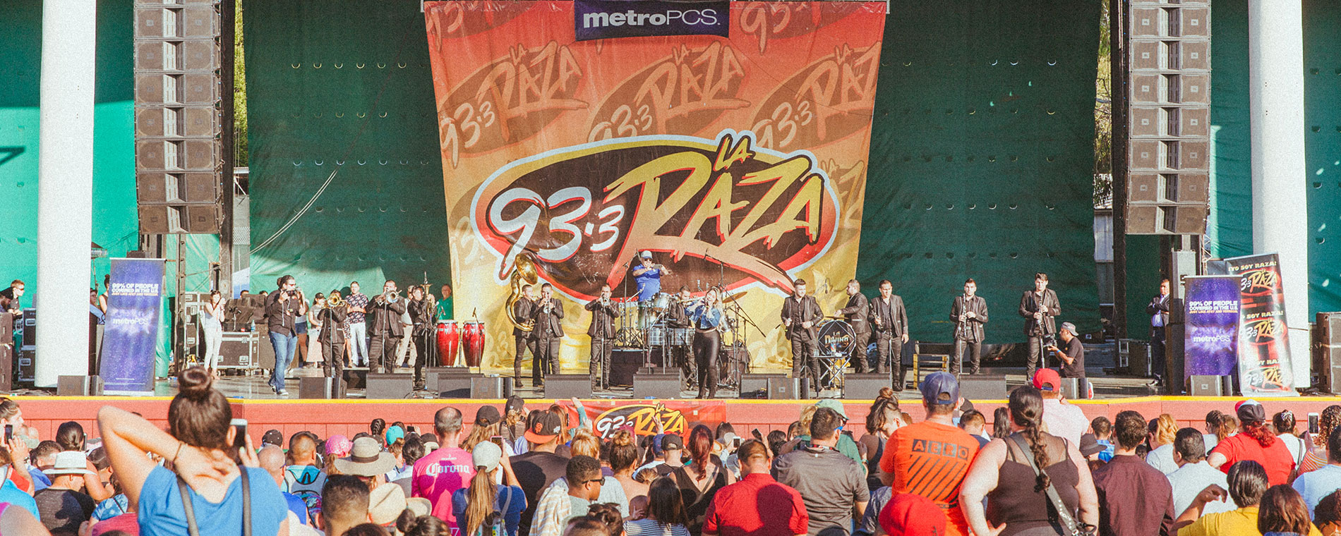Latin Food & Music Festival at California's Great America