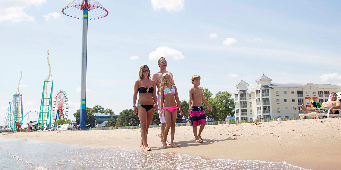 The Cedar Point Beach