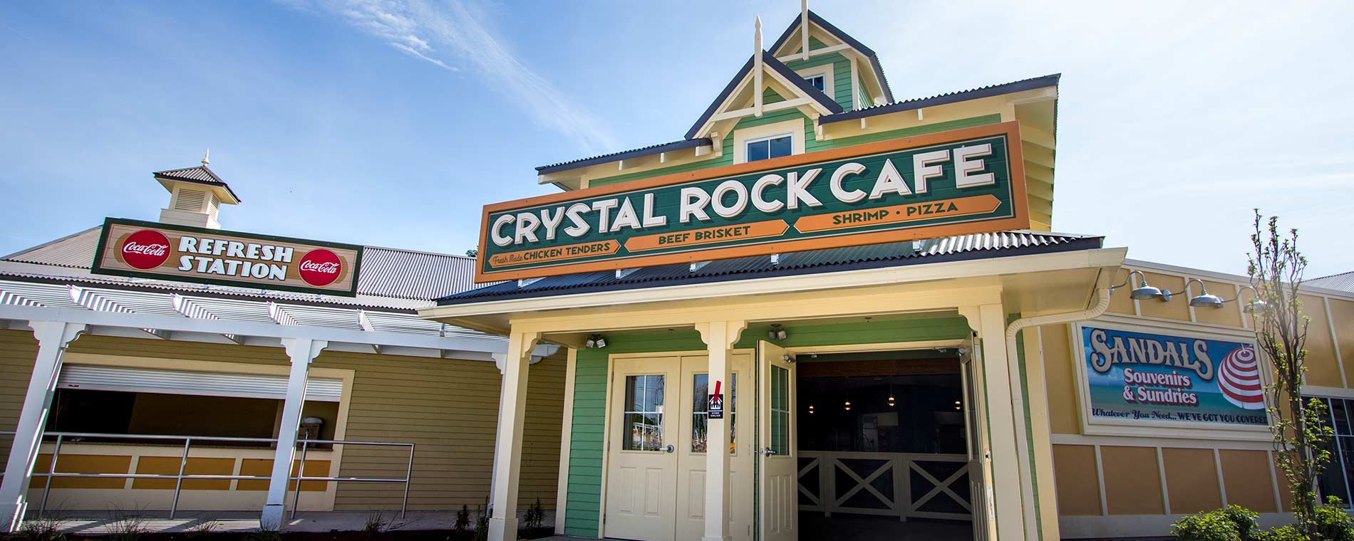 Crystal Rock Café at Cedar Point Shores Waterpark