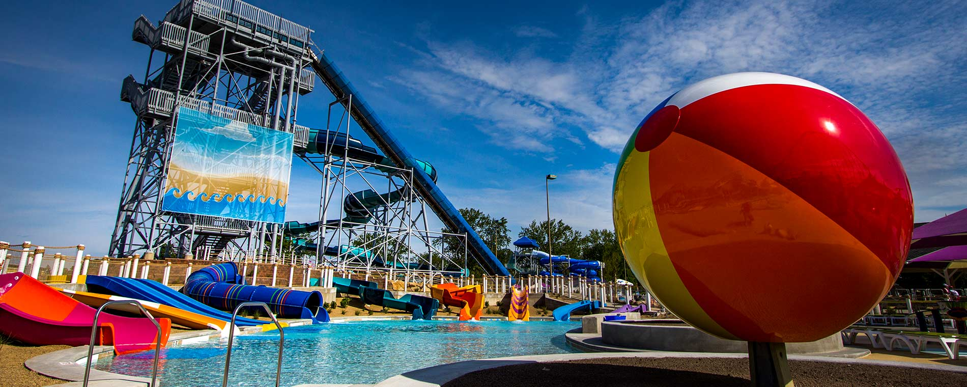 Lakeslide Landing at Cedar Point Shores Waterpark