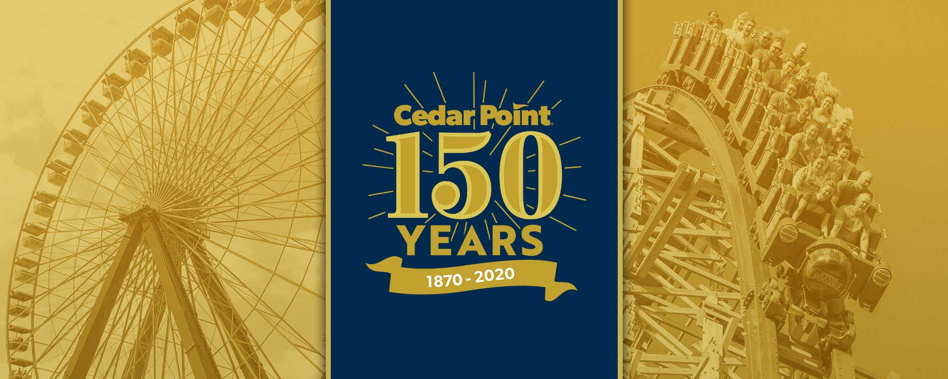 Cedar Point 150th Anniversary