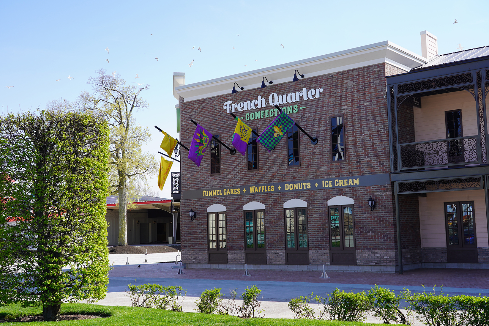 Newly renovated French Quarter Confections at Cedar Point
