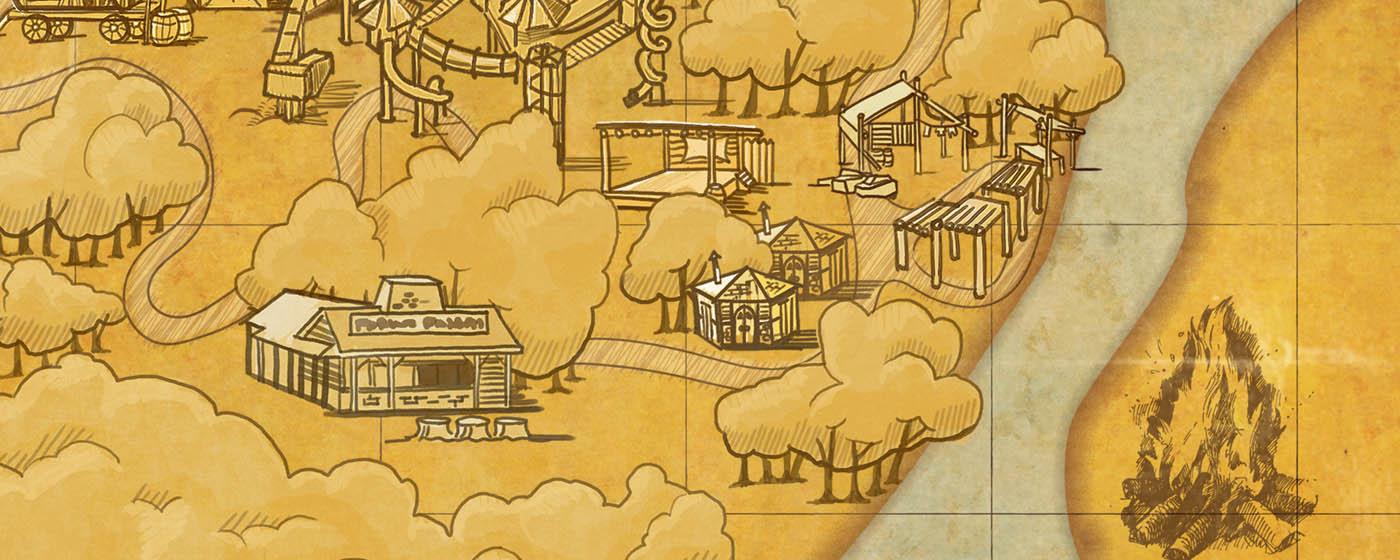 The Last Piece of the Map - Cedar Point Cedar Point Map on
