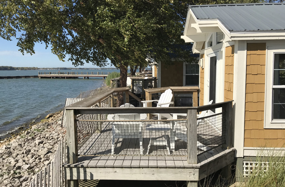 Standard Cabin Rentals at Cedar Point's Lighthouse Point