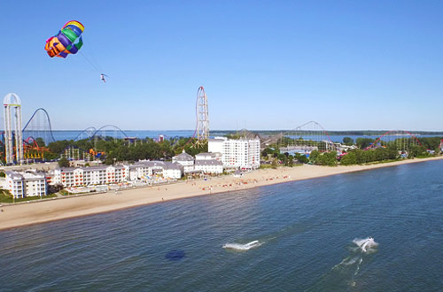 North Coast Parasail at Cedar Point