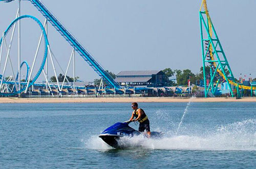 Waverunner Rentals on Lake Erie at Cedar Point