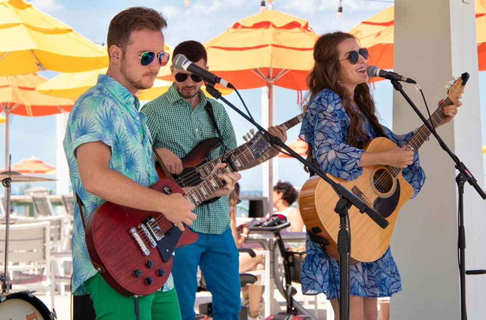 Live Music on the Beach