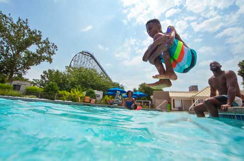 Hotels & Campgrounds at Cedar Point Resorts