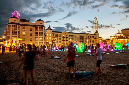 Beach Glow Party at Cedar Point Nights