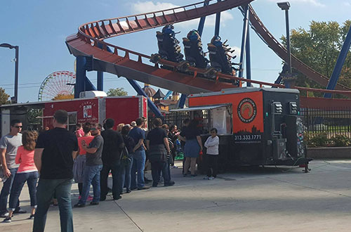 Last Blast Of Summer Food Truck Wars Cedar Point