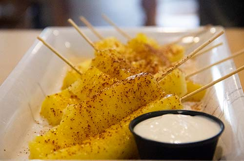 Chill Lime Pineapple Skewer