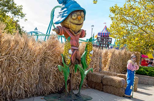 Woodstock's Crazy Cornstalks at Cedar Point's Halloween Event
