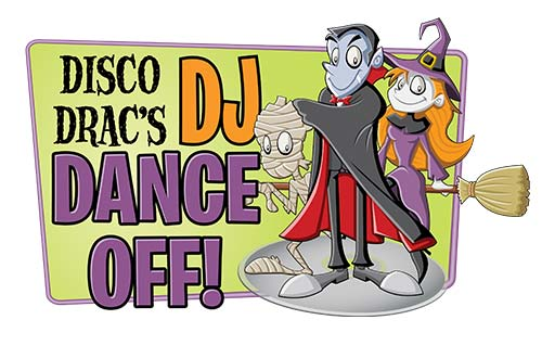 Disco Drac's DJ Dance-Off at Cedar Point's Halloween Event