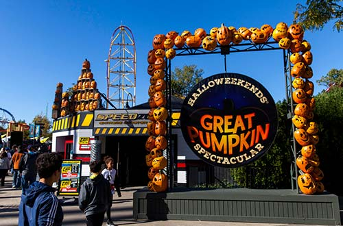 HalloWeekends Pumpkin Spectacular at Cedar Point's Halloween Event