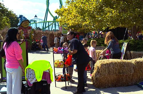 Schroeder's Games of Skill at Cedar Point's Halloween Event