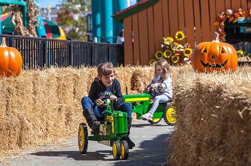 Franklin's Tractor Trek at Cedar Point's Halloween Event