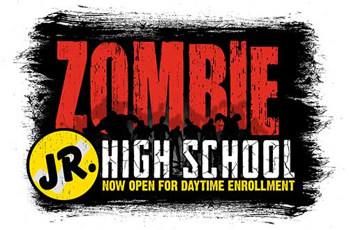 Zombie Jr. High at Cedar Point's Halloween Event