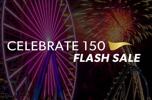 Celebrate 150 Flash Sale