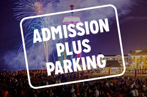 Admission Plus Parking