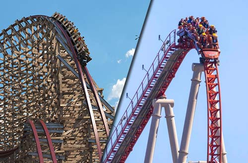 Steel Vengeance and Maverick