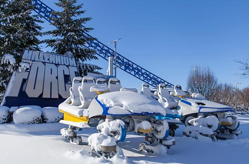 Winter Chill Out Event at Cedar Point