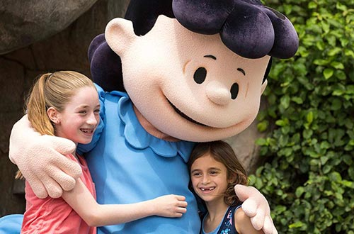 PEANUTS Character Event at Cedar Point