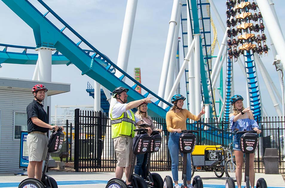 Segway Tours at Cedar Point