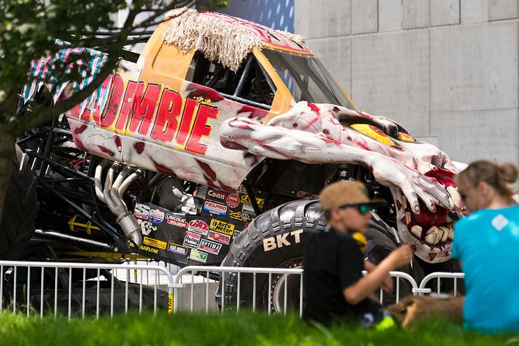 Monster Jam Thunder Alley | Monster Truck Show | Cedar Point