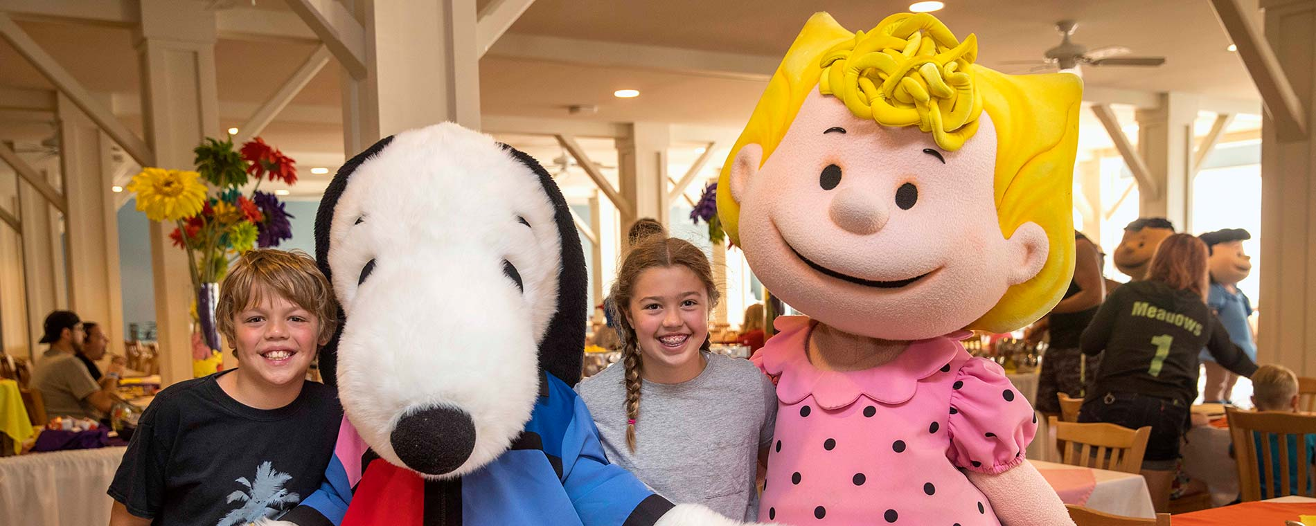 Breakfast Buffet with the PEANUTS Characters