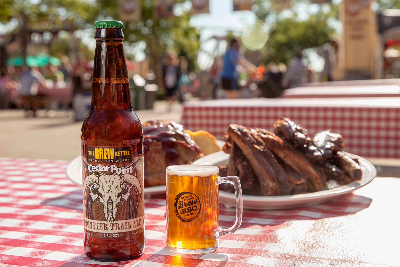 Brew and BBQ Festival at Cedar Point