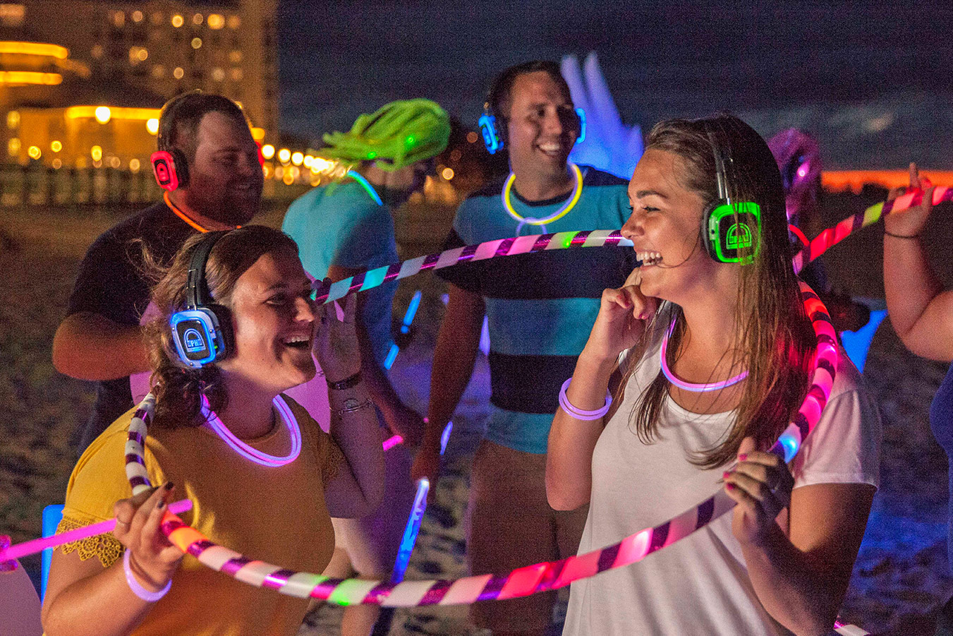 Silent Disco Zone at Cedar Point Nights