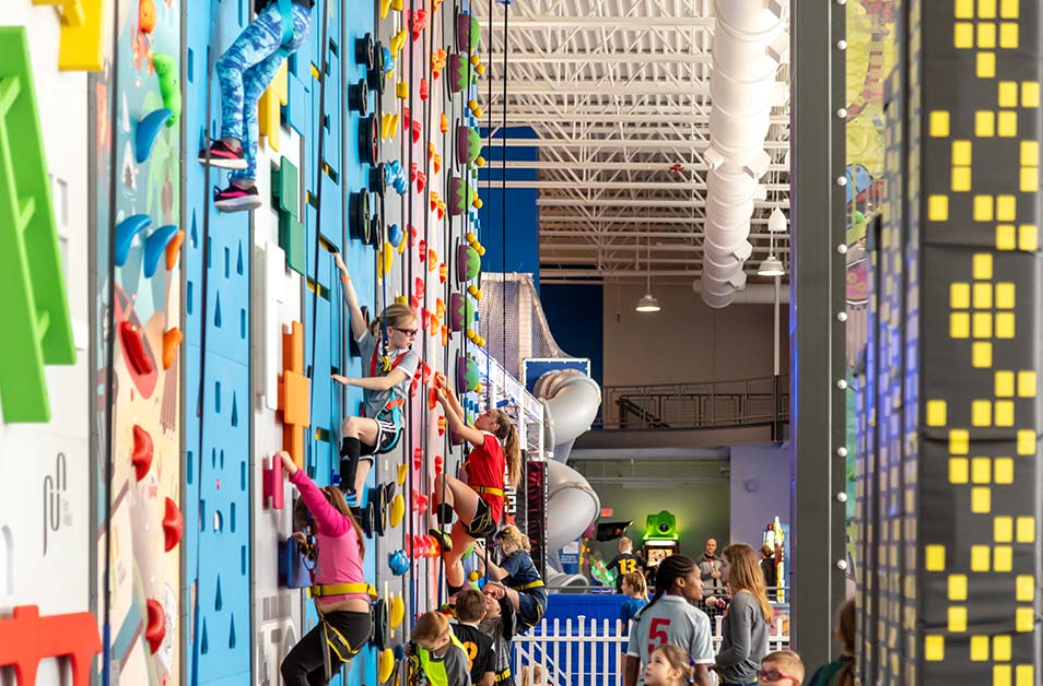 Climbing Walls with Kids 2