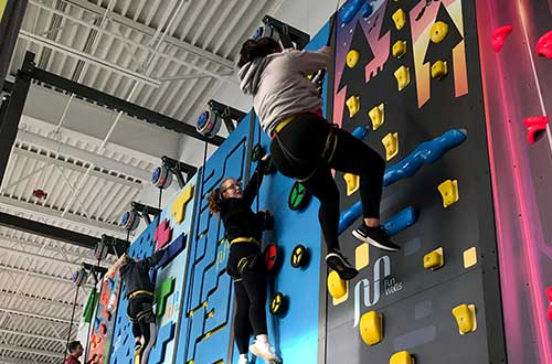 Climbing Walls with Kids 5