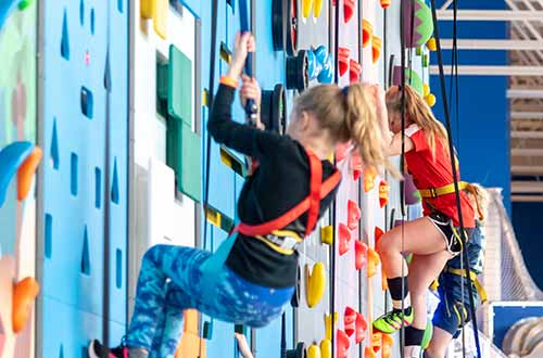 Climbing Walls with Kids 1