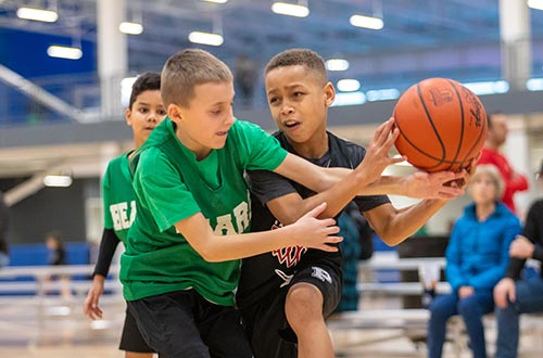 Youth Basketball League 4