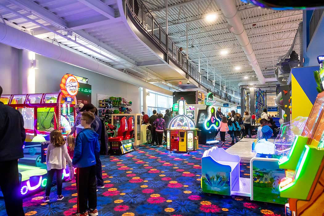 Arcade with Kids 2 CFX_9306; alt text Climbing Walls 1