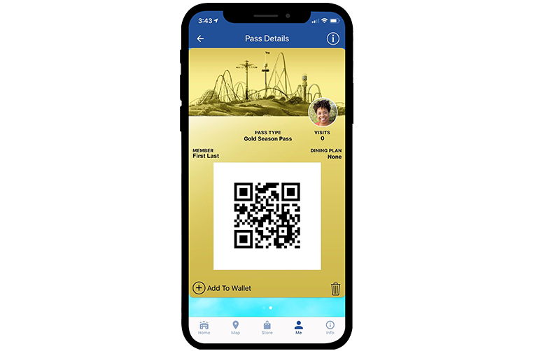 Canada's Wonderland Mobile App Digital Season Pass