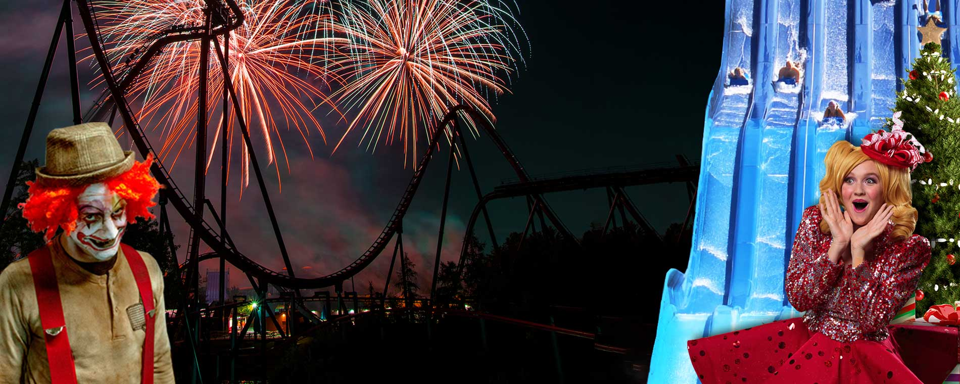 Fireworks, Splash Works, Halloween Haunt, and WinterFest at Canada's Wonderland