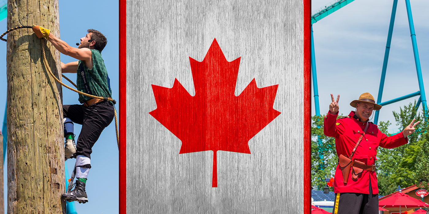 Canada Day Celebration at Canada's Wonderland
