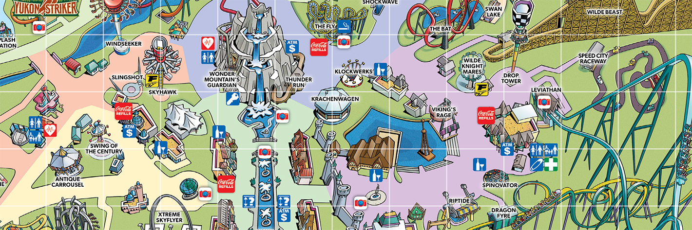 Map Of Canada Wonderland 2019 Canada's Wonderland Park Guide reflects big changes, a new