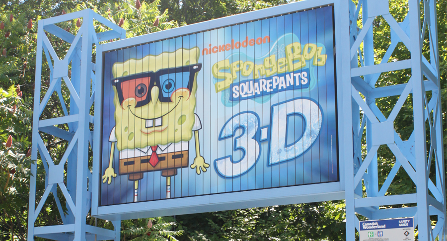 Spongebob Squarepants 3D Ride at Canada's Wonderland