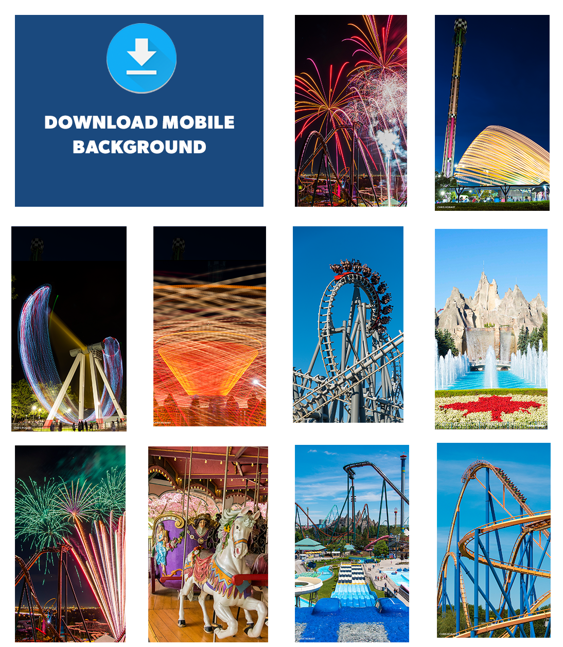 Download Canada's Wonderland Mobile Backgrounds