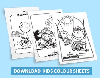 Canada's Wonderland printable colouring pages