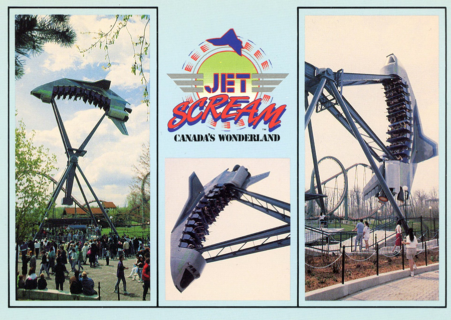 Jet Scream Former Ride at Canada's Wonderland