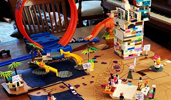 Build Your Own Theme Park At-Home Activity for Kids
