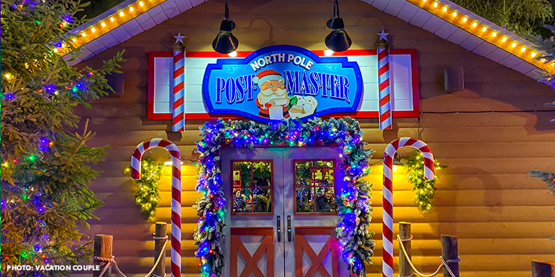 Send your letter to Santa at Canada's Wonderland's Christmas event