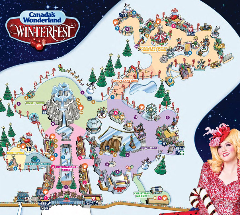 See all of the things to do for Christmas on our WinterFest map
