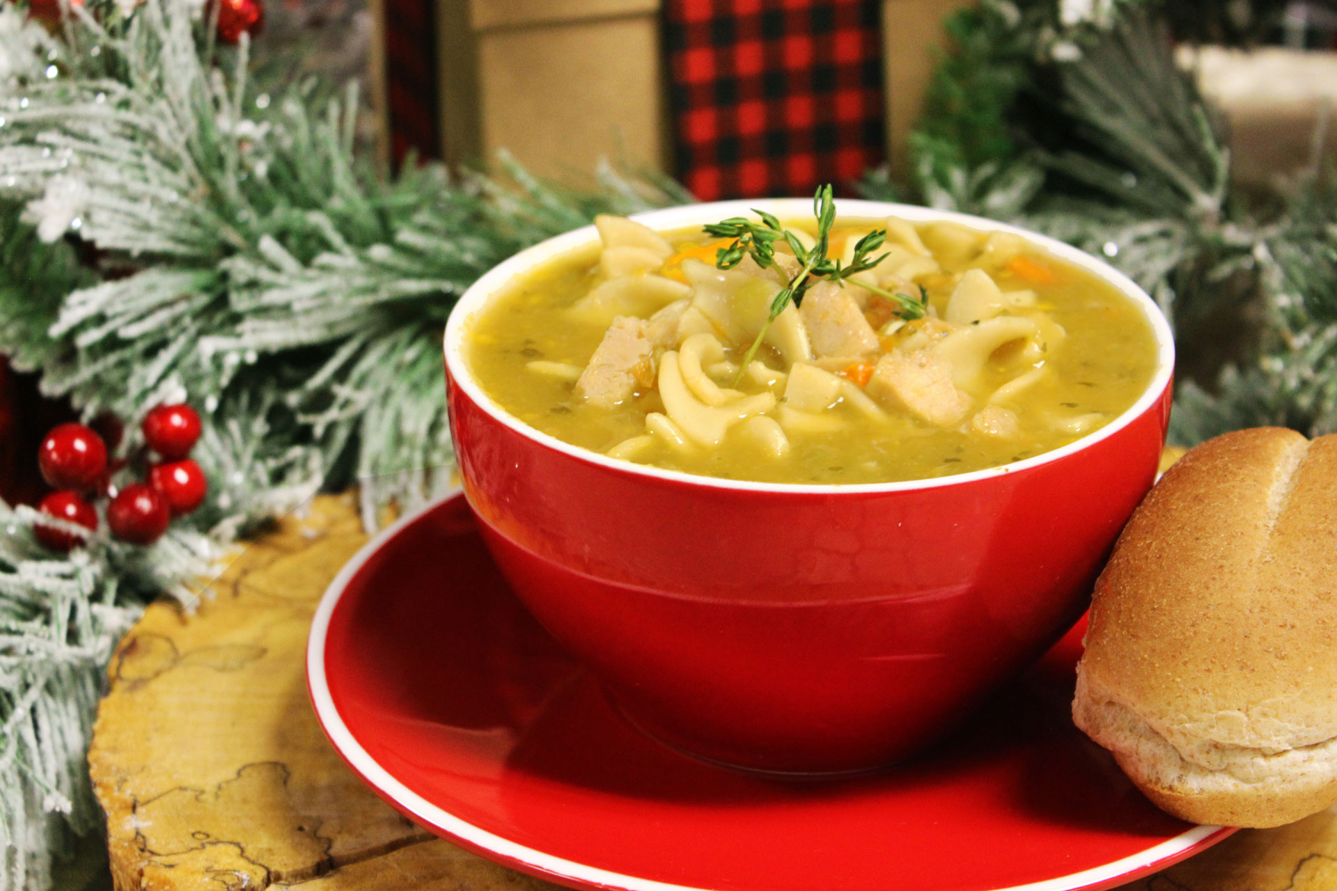 Stay warm during our WinterEvents with some chicken noodle soup!